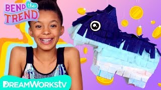 Easy Mini Piñata Piggy Bank! | BEND THE TREND