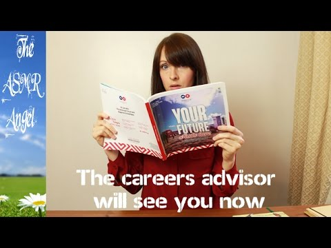 ASMR Role Play - Careers Advisor (Personal Attention )