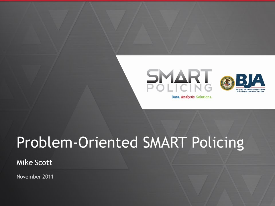 disadvantages to problem oriented policing Intelligence-led policing (ilp)  the new zealand police are now implementing more aspects of problem-oriented policing to their intelligence-led policing system.