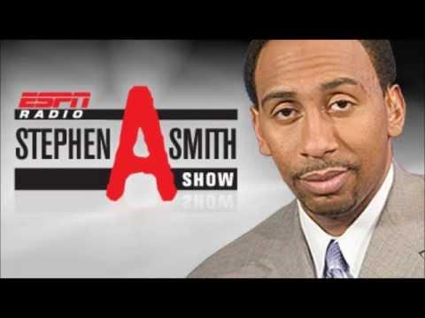 Stephen A. Smith sons a nervous caller on 1050 ESPN Radio!