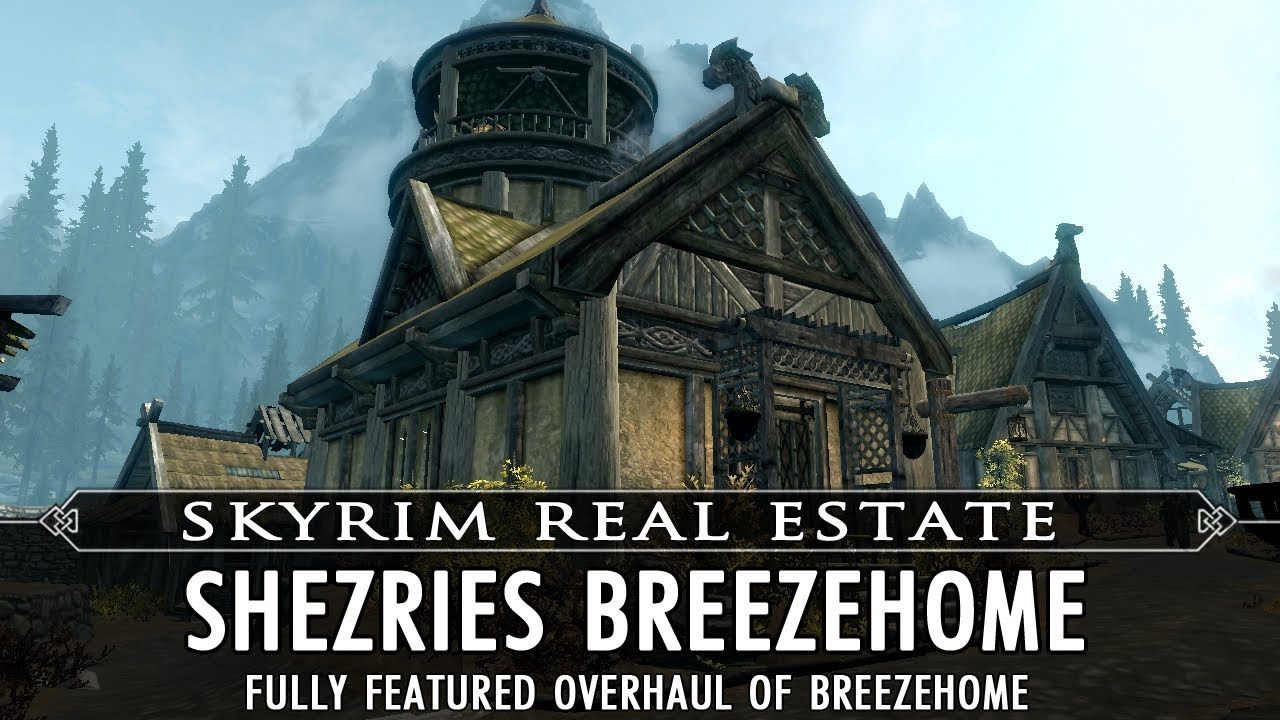 Skyrim Real Estate: Shezries Breezehome - YouTube