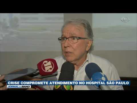 Crise compromete atendimento no Hospital São Paulo
