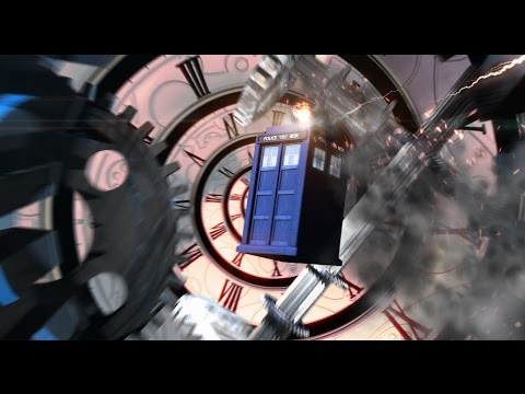 Rockter Who - Series 9 Remix Intro- NeonVisual- Doctor Who Rock Guitar Theme Titles