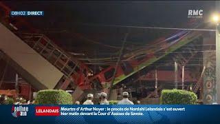 Terrible accident de métro à Mexico, au moins 13 morts et 70 blessés
