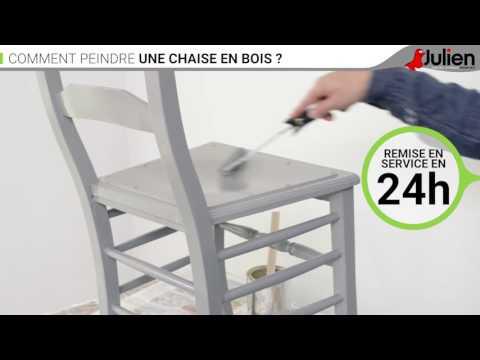 Peindre Une Chaise Julien Comment Youtube BoisPeintures En OnN0wX8kP