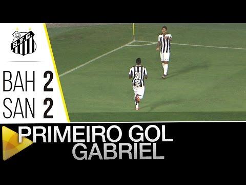 Bahia 2 x 2 Santos | GOL DO GABRIEL | Amistoso (23/01/16)