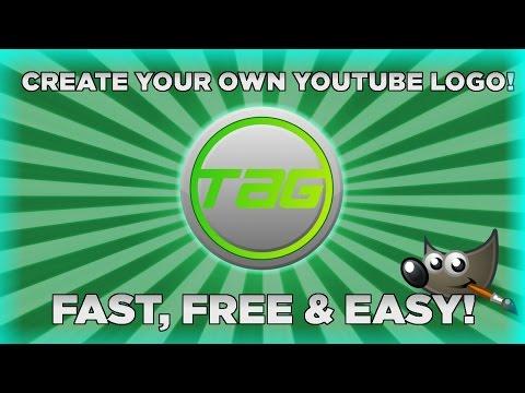 youtube how to make a logo