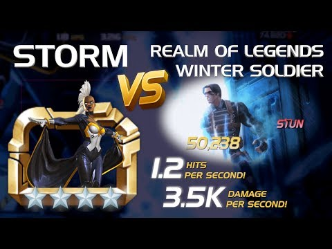 Weathering the Storm: R5 4-Star Storm vs. RoL Winter Soldier   Marvel Contest of Champions