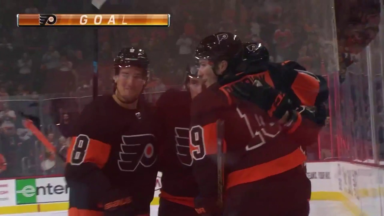 info for 54a56 7adfd Jakub Voracek Goal - Philadelphia Flyers vs New Jersey Devils (10/20/18)