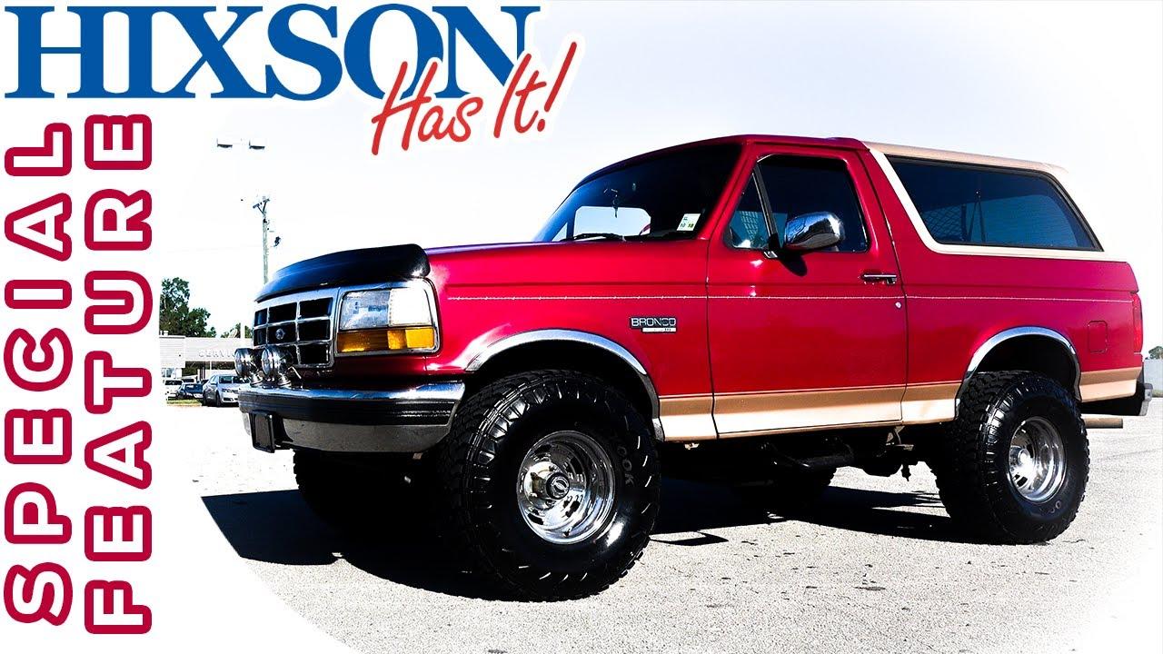 U0026 39 94 Ford Bronco Restoration
