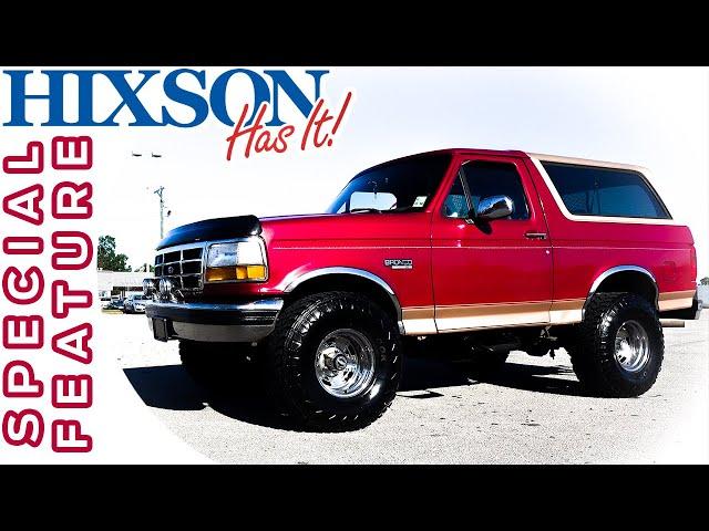 Ford Bronco Restoration >> 3994 Ford Bronco Restoration Hixson Autoplex Of Alexandria
