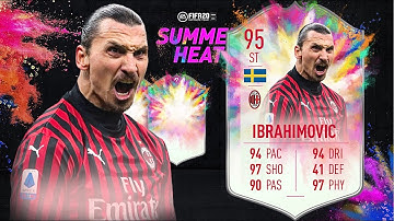 FIFA 20: ZLATAN IBRAHIMOVIC 95 SUMMER HEAT PLAYER REVIEW I FIFA 20 ULTIMATE TEAM
