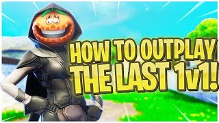"How to OUTPLAY The Last 1v1! - PS4 Pro Fortnite ""Nightshade"" Skin Gameplay!"