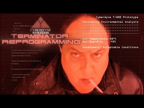 ASMR TERMINATOR 2 REPROGRAMMING  Special Effects Edition