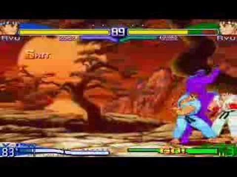 SFA3 V-Ryu V-ism Combos