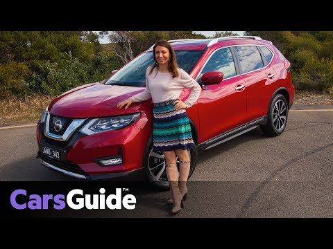 Nissan X Trail Ti 4WD 2017 review family test video