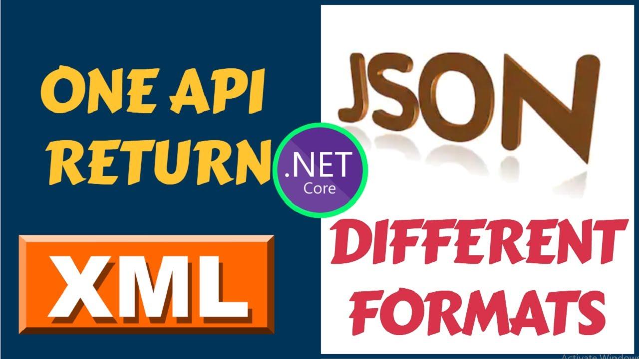 Combine XML And JSON Requests Format | ASP.NET Core Web API