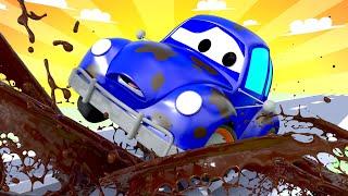 Автомойка Эвакуатора Тома - Старина Генри - Автомобильный Город 💧 детский мультфильм