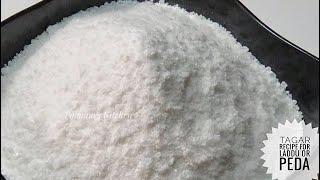 Tagar Recipe/ Boora for Laddu or Peda - How to make Boora