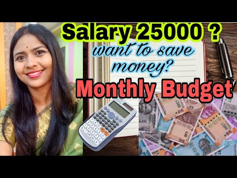 Monthly budget planning  to save money with small salary # Indian small town Budget