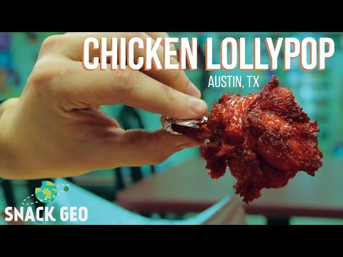 Chicken Lollypop - Amazing Indian Cuisine (Austin, TX Hidden Gem)