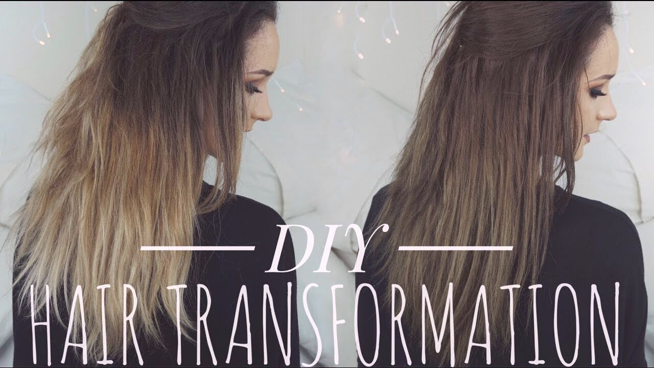 Dying My Hair Back To Brown Diy Hair Transformation Hannah