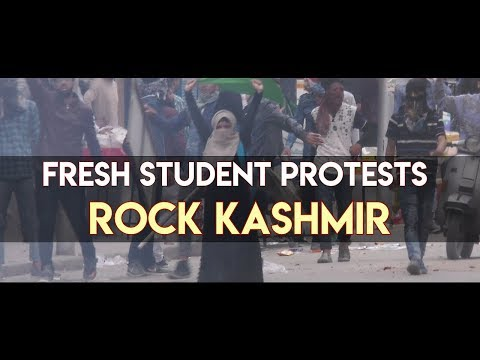 Fresh student protests rock Kashmir