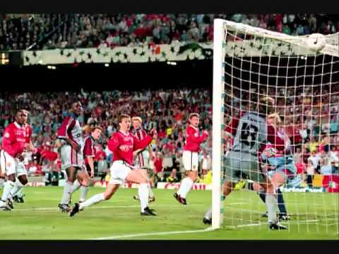 YouTube   Manchester United   Radio Commentary   Champion's League Final 1999