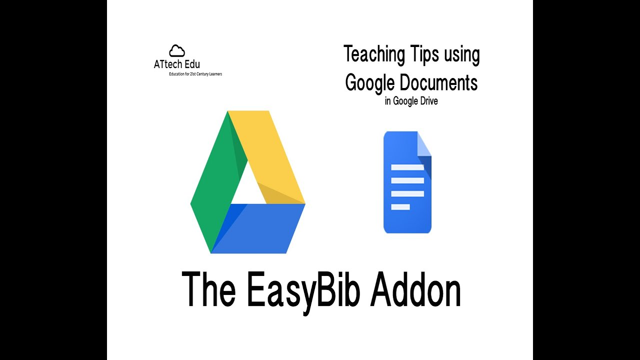 teaching tips using google documents addons and easybib in teaching tips using google documents addons and easybib in google documents in google drive