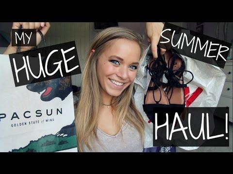 MY HUGE SUMMER CLOTHING HAUL