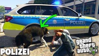 ACHTUNG HIER KOMMT DER POLIZEIHUND! - GTA 5 POLIZEI MOD - Deutsch - Grand Theft Auto V - LSPD:FR