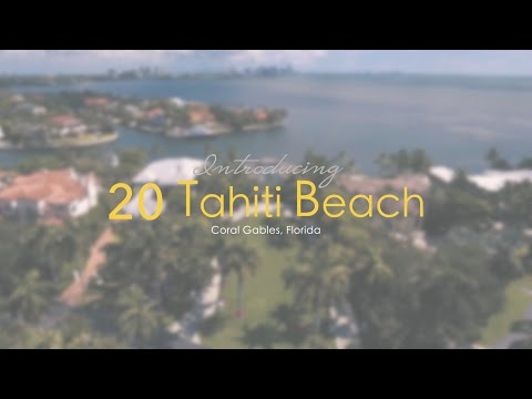 20 Tahiti Beach Island Road Coral Gables Florida