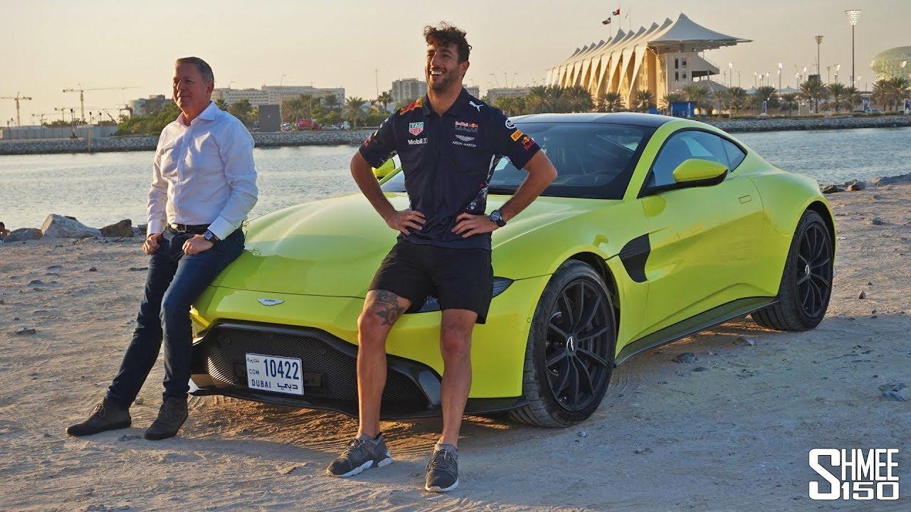 Daniel Ricciardo Is Buying An Aston Martin Valkyrie Experience