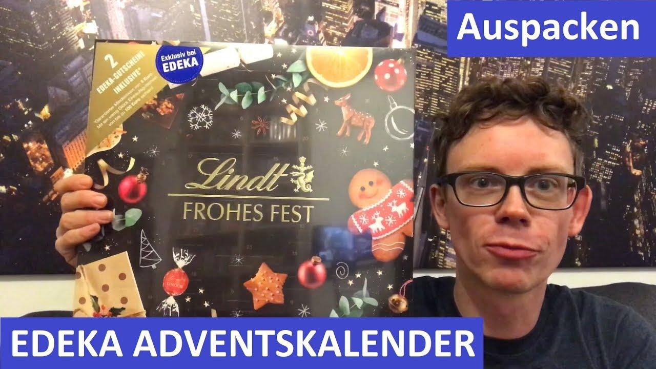Lindor Weihnachtskalender.Edeka Adventskalender Mit Lindt 2018 Auspacken Das Ist Drin Inhalt Preis Einkaufsgutschein