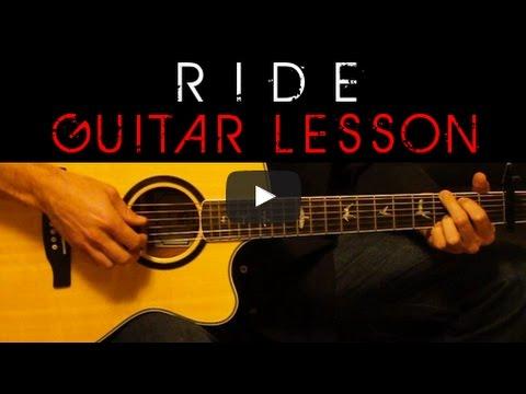 Twenty One Pilots - RIDE 🎸 Acoustic Guitar Lesson Cover - Easy ...