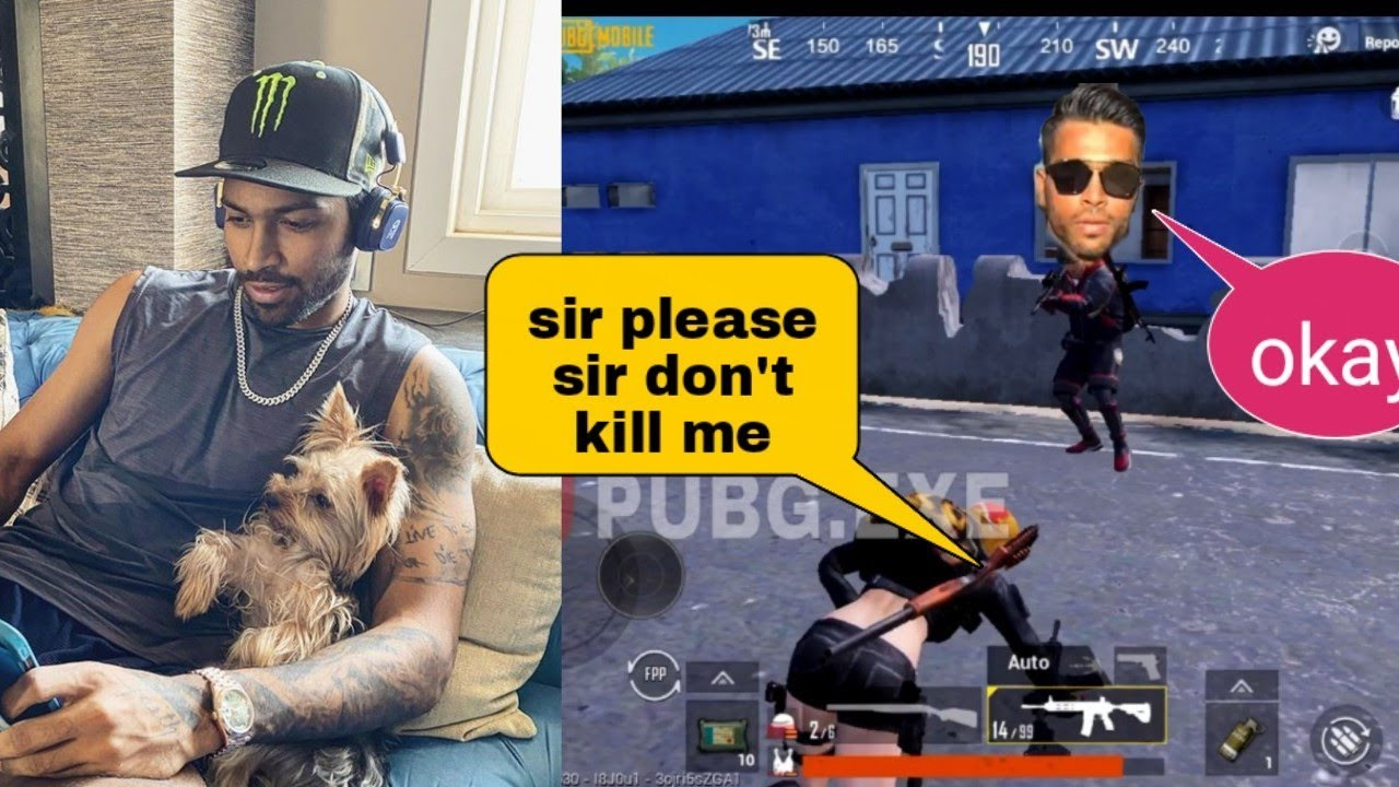 Hardik pandya try to kill me | pubg mobile | biggest meet up in my life