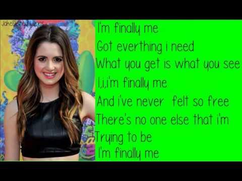 """Laura Marano-""""Finally Me""""-Lyrics HQ"""