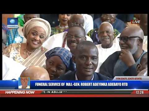 Funeral Service Of Major Gen Robert Adeyinka Adebayo Rtd Pt 7