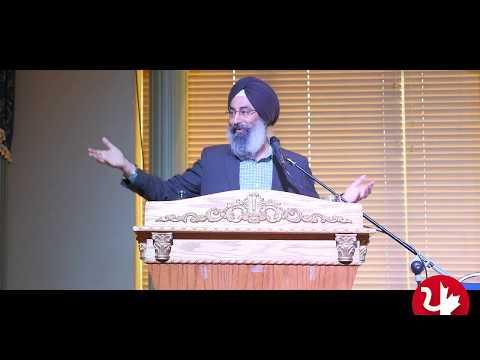 Harinder Singh Texas - World Punjabi Conference Surrey 2018