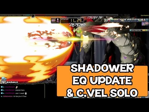 Maple Story SEA - Lv230 Shadower Equipment Update & Chaos Vellum Solo ~ !