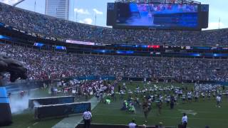 Carolina Panthers Introduction 9/20/15 (Opening intro to the regular season from the BOA Stadium)