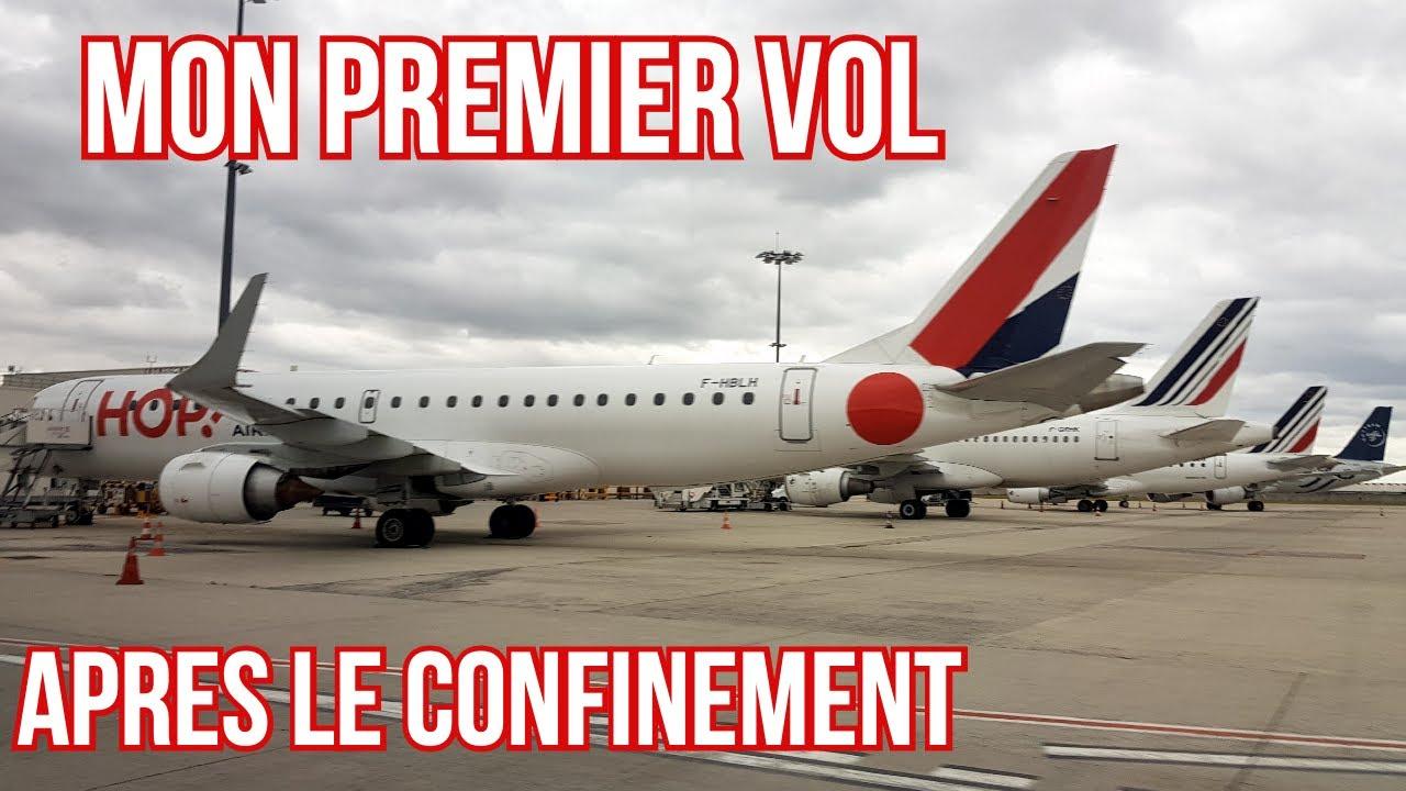 Déconfinement : premier vol en avion de ligne après 3 mois