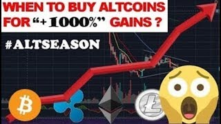 ALTCOIN SEASON 2020 - When to BUY ALTCOINS for +1000% Profits? - WEEKLY CRYPTO LIVE STREAM