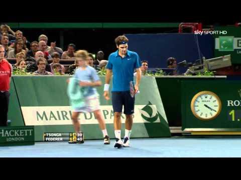 Roger Federer - Unbelievable Backhand, Paris 2011 (HD 1080p)