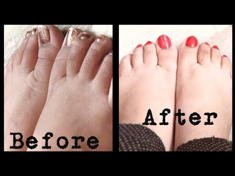 Pedicure at home with natural products | Organic products | DIY