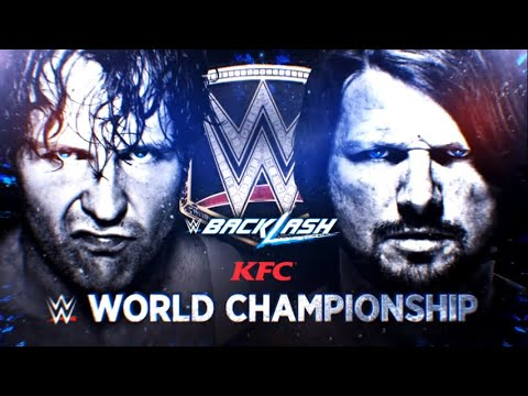 Download WWE Backlash 2016 Match Card