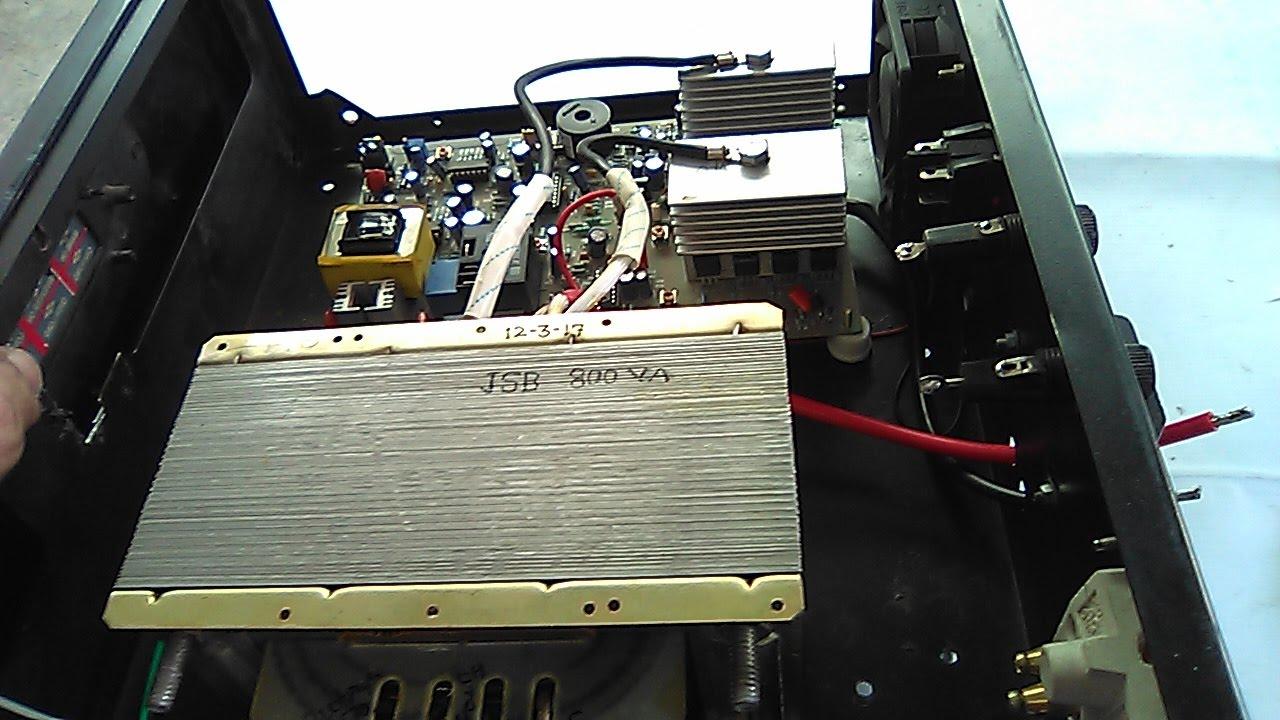 800va Inverter Assembling 12v Dc To 230v Ac50hz Yt 26 Youtube Uniline Ups Circuit Diagram