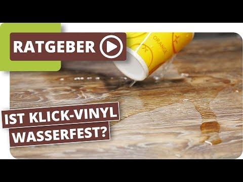 Ist Klick-Vinyl Wasserdicht und im Badezimmer einsetzbar ...