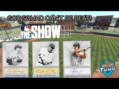 CAN ANYONE BEAT THE GOD SQUAD? MLB THE SHOW 19 DIAMOND DYNASTY