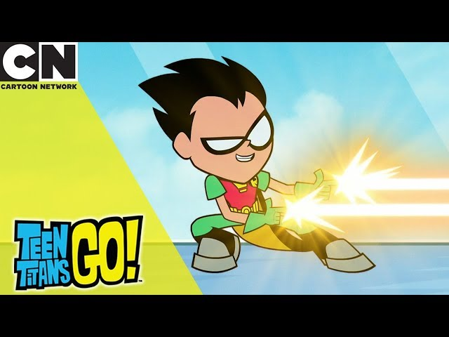 Teen Titans Go! | Awesome New Powers | Cartoon Network UK